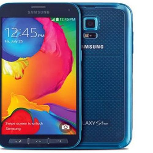 طرح Galaxy S5 Sport بالأحمر والأزرق