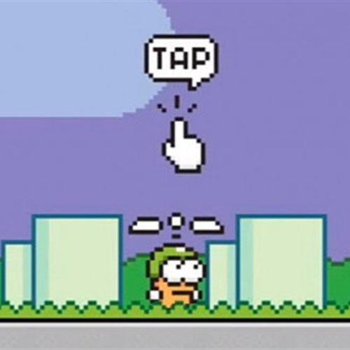 : لعبة Swing Copters تصل إلى نظامي  أندرويد  و آي أو إس