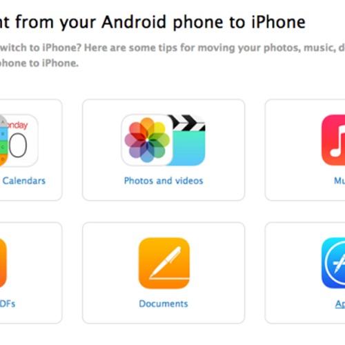 : كيف تنقل بياناتك من أندرويد إلى iOS
