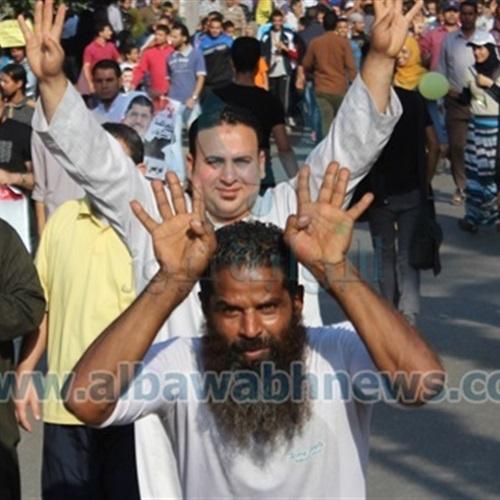 : مسيرات لأعضاء الجماعة الإرهابية بالغربية