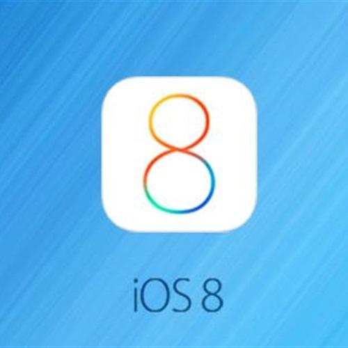 :  ارتفاع مُعدّل استخدام  iOS 8  على  آيفون