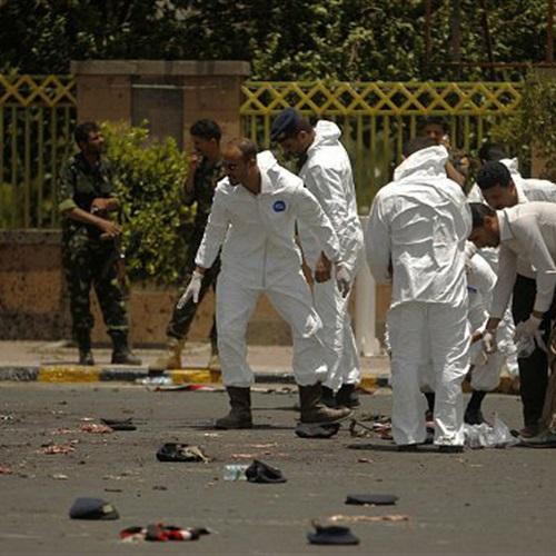 : فضائية حوثية: 43 قتيلًا في تفجير انتحاري بصنعاء