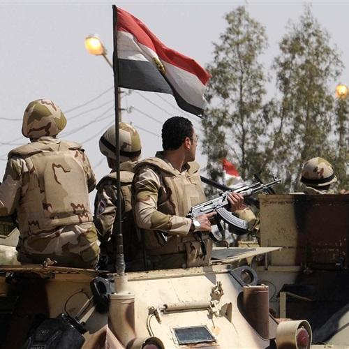 : القوات المسلحة تنعي شهداء حادث العريش