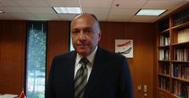 اليوم.. شكري يلتقي وزير حقوق الإنسان اليمني