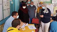 انطلاق قافلة الكشف على أمراض العيون بقرية ميت ربيعه بالشرقية