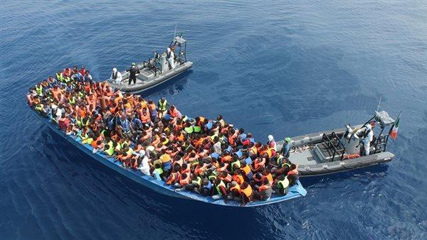 إنقاذ 121 مهاجرا من جنسيات أفريقية قبالة السواحل الليبية