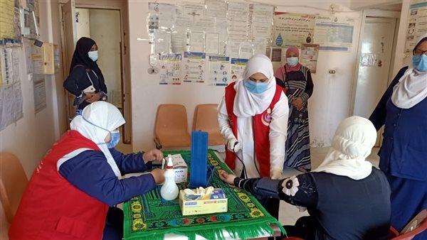 بالصور.. فحص 32518 سيدة ضمن مبادرة «صحة المرأة» بجنوب سيناء