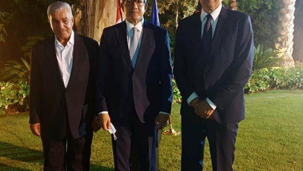وزير السياحة يشارك في حفل توديع سفير ألمانيا بالقاهرة