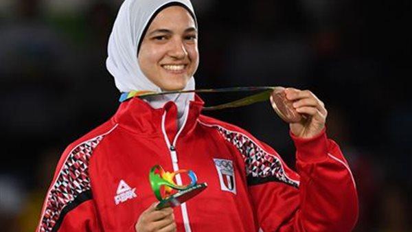 نائب رئيس الصيد: هداية ملاك أول مصرية تحقق ميداليتين في بطولتي أولمبياد متتاليتين