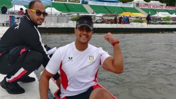 طوكيو 2020.. مؤمن مهران يتأهل لربع نهائي الكاياك للقارب الفردي 200 متر