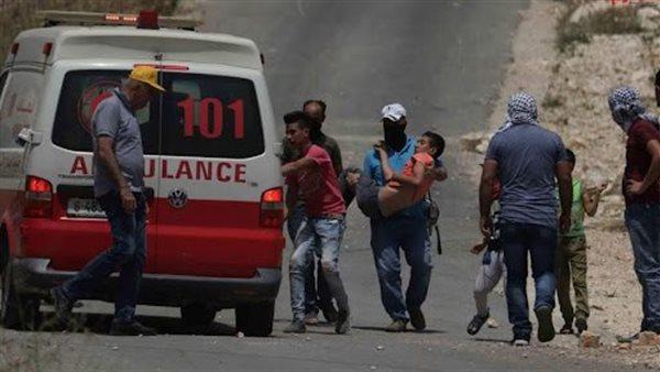"""الاحتلال يصيب 13 فلسطينيًا بالرصاص في بلدة """"بيتا"""" بجنوب نابلس"""