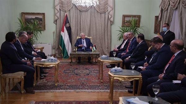 تفاصيل لقاء الرئيس الفلسطيني مع كبار الإعلاميين المصريين