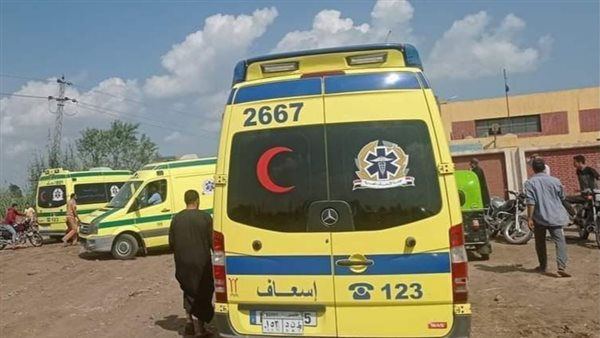 إصابة 15 شخصا في انقلاب سيارة بكفر الشيخ