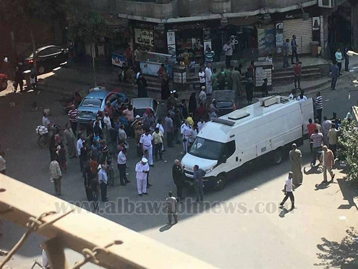 الصور الأولى من موقع تفكيك قنبلة كنيسة روض الفرج