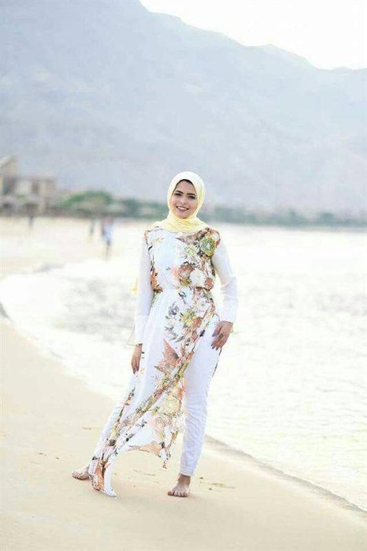 f29ccce39b2b8 البوابة نيوز  تعرفي على ملابس الشاطئ للمحجبات لصيف 2018