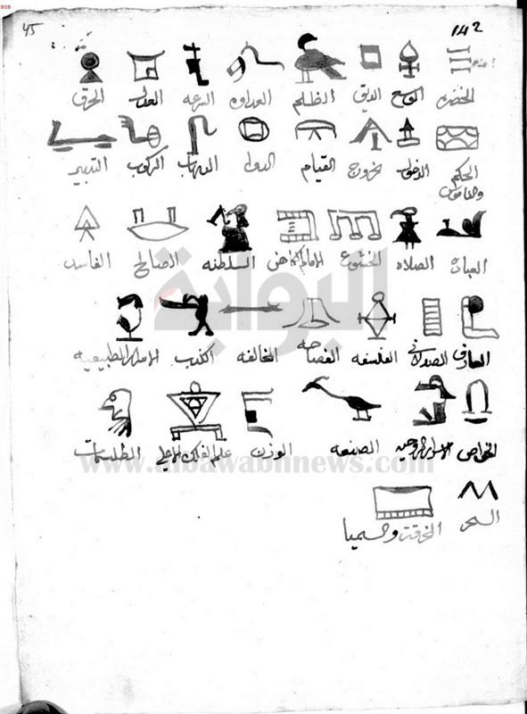 كتاب شوق المستهام في معرفة رموز الأقلام pdf