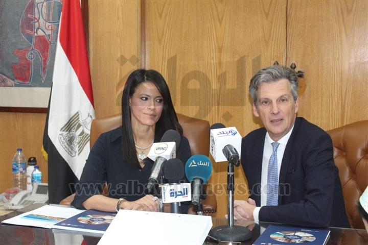 مؤتمر صحفي لوزيرة السياحة والسفير البريطاني