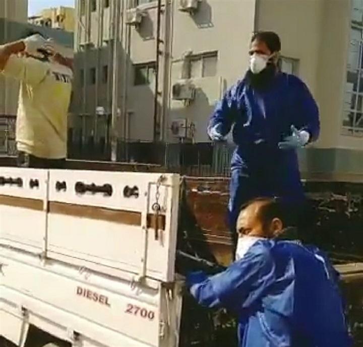 """أول تعليق من الصحة على نقل جثمان حالة """"كورونا"""" ببورسعيد على عربة نصف نقل"""