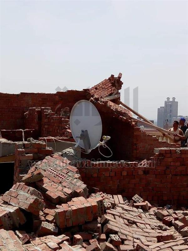 بالصور.. حملة موسعة لإزالة 13 بناء مخالفا بحي دار السلام