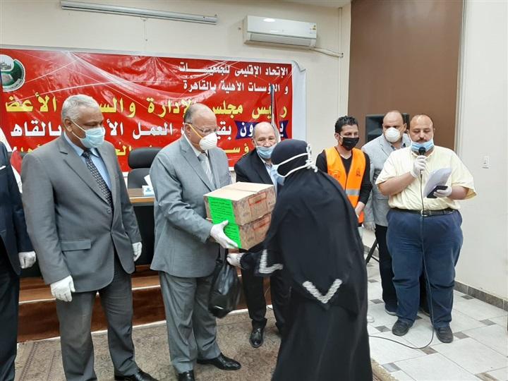 محافظ القاهرة: توزيع مواد غذائية على مليون أسرة بمناسبة شهر رمضان