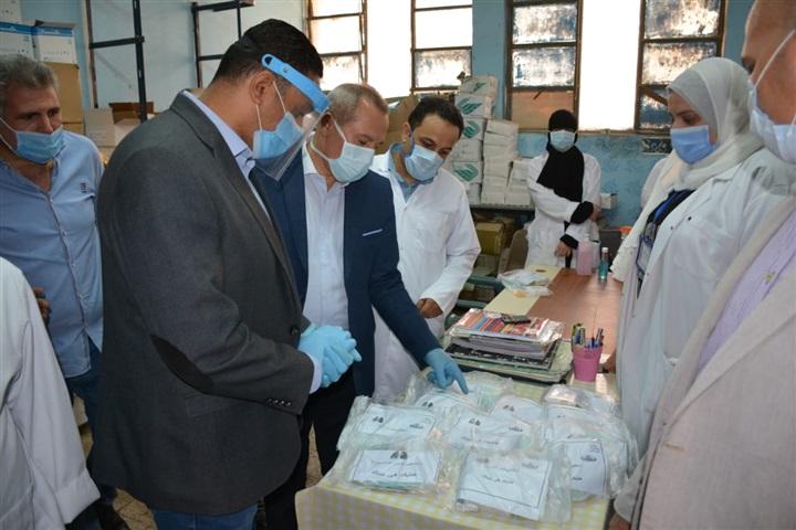 محافظ الدقهلية يتفقد مستشفى صدر المنصورة ويوجه بتوفير المستلزمات الطبية