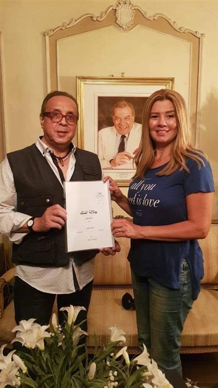 """رانيا فريد شوقي: بابا وحشني قوي.. وحالة ترقب لرؤية """"جلالة الملك"""""""