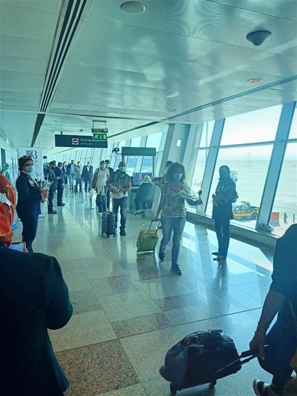 وصول أولى رحلات الخطوط الجوية السويسرية إلى مطار الغردقة