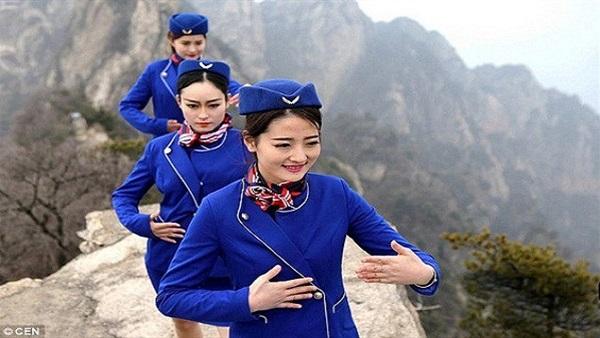 مضيفات الطيران الصينيات