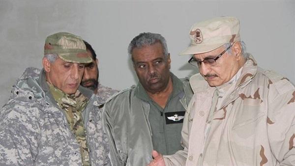 قيادات الجيش الليبي