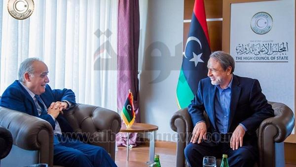 نتيجة بحث الصور عن السويحلي: نجاح المفاوضات الليبية مرهون بالتصدي للعرقلة