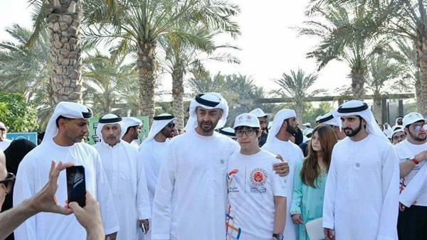 0481bfa34 البوابة نيوز: محمد بن زايد وحمدان بن راشد يشاركان في مبادرة