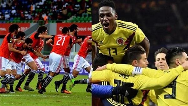 البوابة نيوز بث مباشر مباراة منتخب مصر وكولومبيا