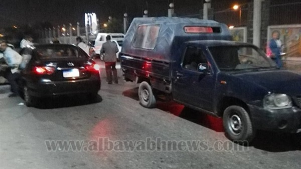 اصابة ضابط شرطة في