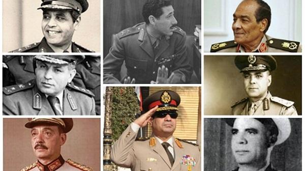 البوابة نيوز المشير أعلى رتبة عسكرية نالها 9 قادة أولهم عامر وأخرهم السيسي