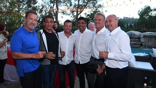 البوابة نيوز: بالصور.. نجم هوليود يقيم حفل عشاء لرئيس بايرن ميونيخ