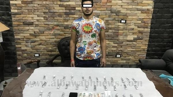 : بالصور.. القبض على 5 عاطلين بحوزتهم مخدرات في القاهرة