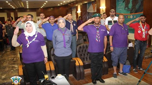 : حفل ختام منتدى الشباب الكشفي العربي الرابع في شرم الشيخ