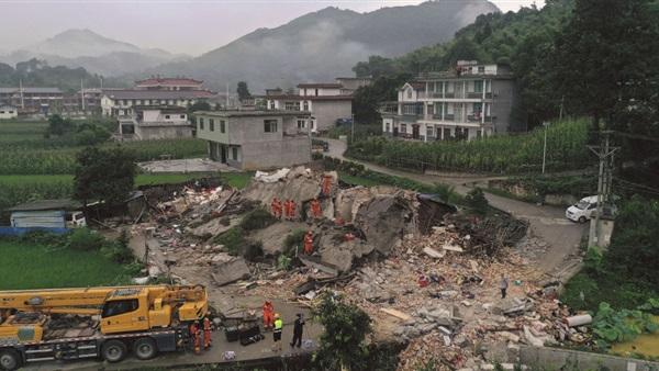 : مقتل شخص وإصابة 29 آخرين في زلزال بقوة 5.4 درجة بالصين