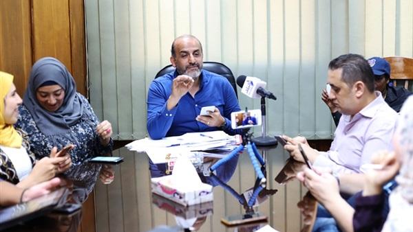 البوابة نيوز: بالصور.. سكرتير عام نقابة الصحفيين يرد على اتهامه بالفساد