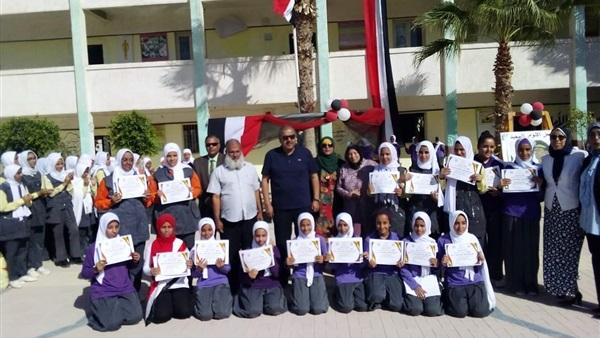 : وكيل تعليم مطروح يشهد احتفالات المدارس بانتصارات أكتوبر