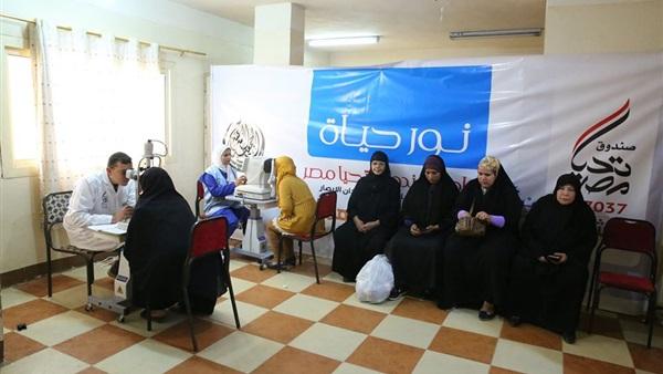 : محافظ كفر الشيخ:  نور حياة  تستهدف علاج 1000 مريض أسبوعيا