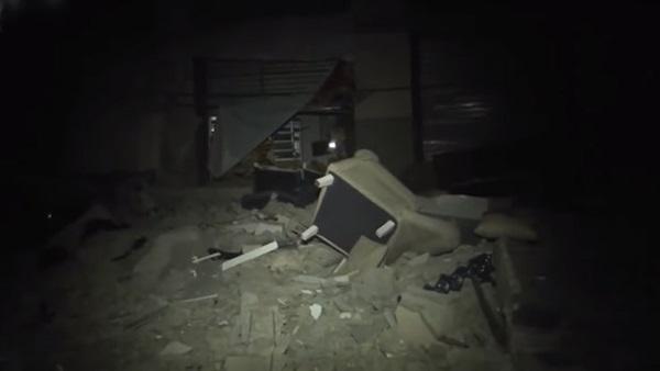 البوابة نيوز: شاهد.. اللقطات الأولى لتفجير منزل قيادي في سرايا القدس بغزة