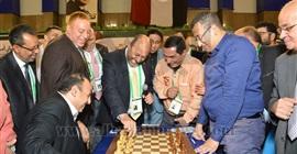 انطلاق بطولة جولدن كليوباترا الدولية للشطرنج