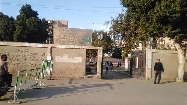 :  مطبات صناعية  بمحيط جامعة الأزهر والمدينة الجامعية بأسيوط