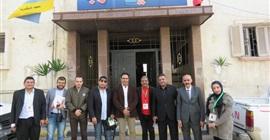 رئيس حي غرب الإسكندرية يستقبل قيادات حزب الجيل