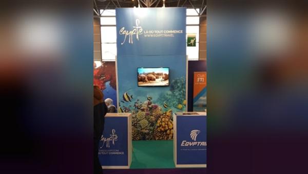 البوابة نيوز:  السياحة والآثار  تشارك في المعرض الدولي لرياضة الغوص بباريس