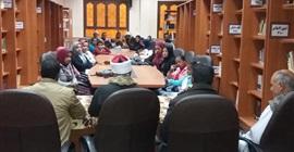 بيت ثقافة الاقالتة في ضيافة مكتبة الأزهر الشريف