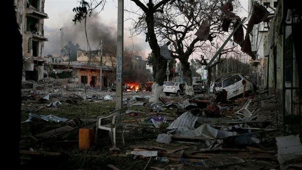 : مقتل وإصابة 24 شخصا في تفجير استهدف أتراك بالصومال
