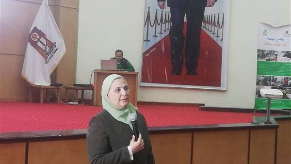 : بالصور.. وزيرة التضامن: برنامج فرصة يركز على ذوي الاحتياجات الخاصة