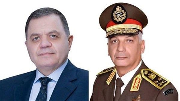 البوابة نيوز: القوات المسلحة تهنئ وزير الداخلية بعيد الشرطة الـ68